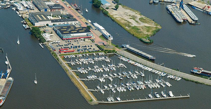 Jachthaven Friese Hoek ligplaats IJsselmeer