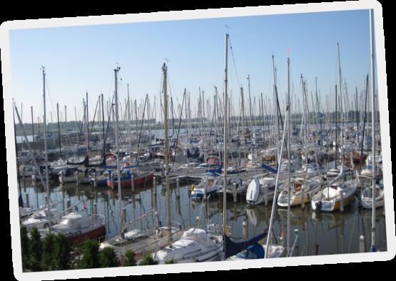 Jachthaven Friese Hoek Lemmer Friesland IJsselmeer