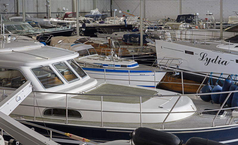 Winterberging Jachthaven Friese Hoek Yachtservice